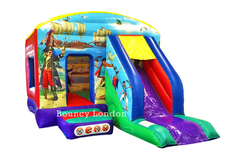 Pirates Bounce Amp Slide Bouncy Castle Hire Wandsworth